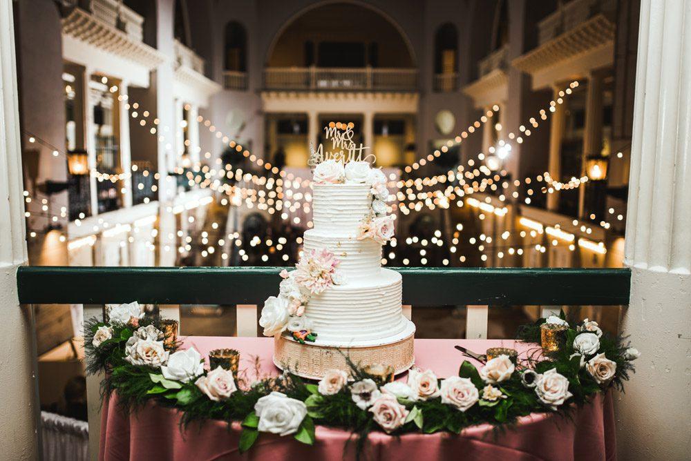 Wedding Cake | Brooke + Blake | A Magical St. Augustine Wedding at the Lightner Museum