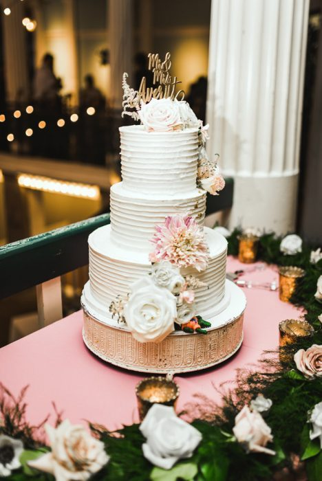 Wedding Cake   Brooke + Blake   A Magical St. Augustine Wedding at the Lightner Museum