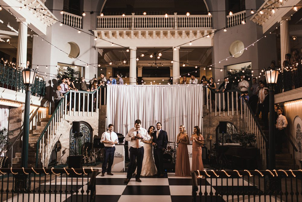 Wedding Reception | Brooke + Blake | A Magical St. Augustine Wedding at the Lightner Museum