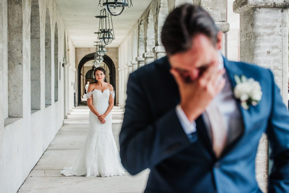 First look | Brooke + Blake | A Magical St. Augustine Wedding at the Lightner Museum