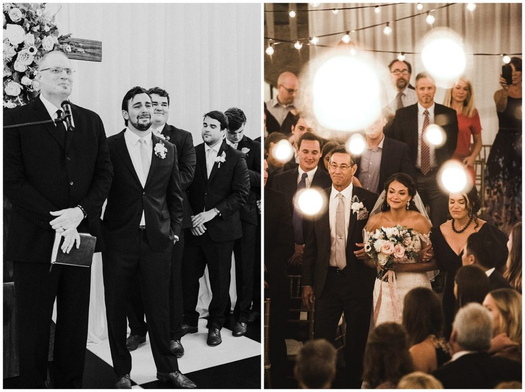 Groom First Look | Brooke + Blake | A Magical St. Augustine Wedding at the Lightner Museum