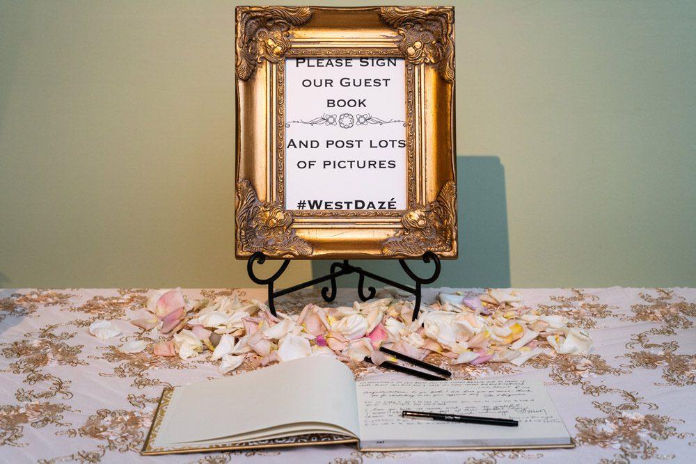Wedding Hashtag Sign | Lightner Museum St Augustine Florida
