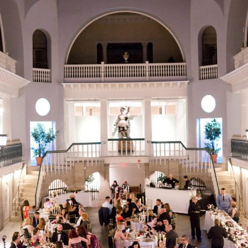 Wedding reception at the Lightner Museum in St. Augustine