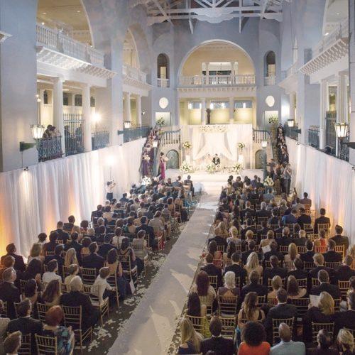 Wedding Ceremony at the Lightner Museum St. Augustine