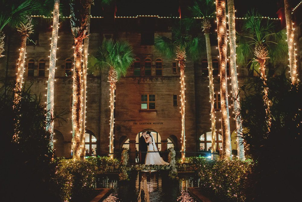 Wedding Photos at the Lightner Museum St. Augustine