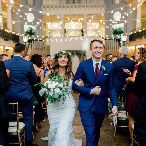 Mr. and Mrs. | Wedding Ceremony at the Lightner Museum St. Augustine