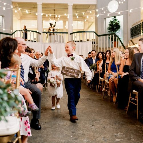 Ring Bearer | Wedding Ceremony at the Lightner Museum St. Augustine
