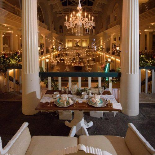 Wedding reception at the Lightner Museum in St. Augustine