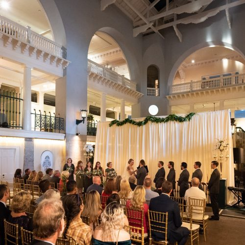 Wedding Ceremony at the Lightner Museum St. Augustine