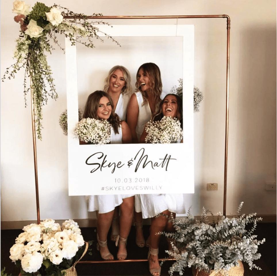Social Media Wedding Photo Booth