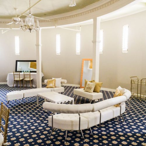 Maria Jefferson Lounge | Bridal Suite at the Lightner Museum in St. Augustine