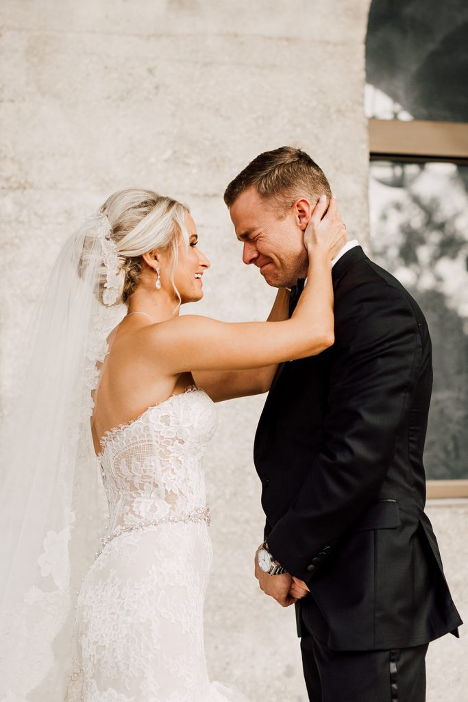 First Look |Lightner Museum Wedding |