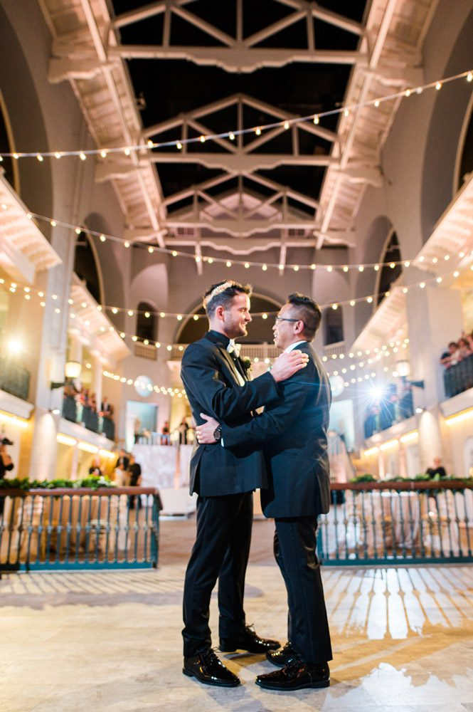 Carlson and Paul's wedding at the Lightner Museum in St. Augustine | LGBTQ friendly wedding venues in Florida