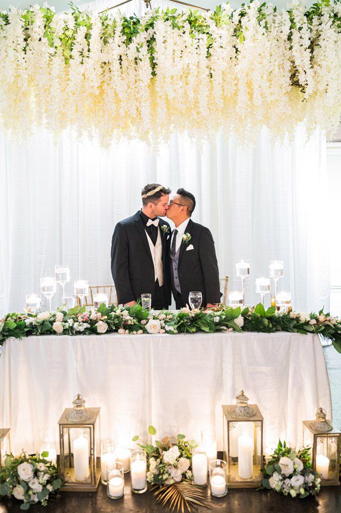 LGBTQ friendly wedding venue | Carlson and Pauls Wedding at the Lightner Museum