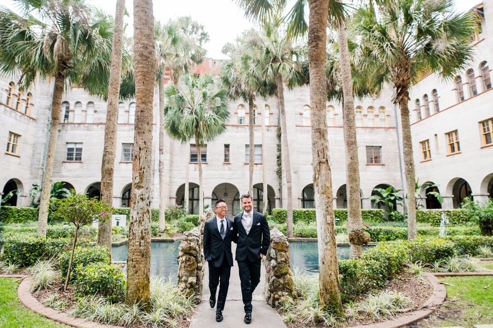 LGBTQ friendly wedding venue | Carlson and Paul's wedding at the Lightner Museum in St. Augustine | LGBTQ friendly wedding venues in Florida