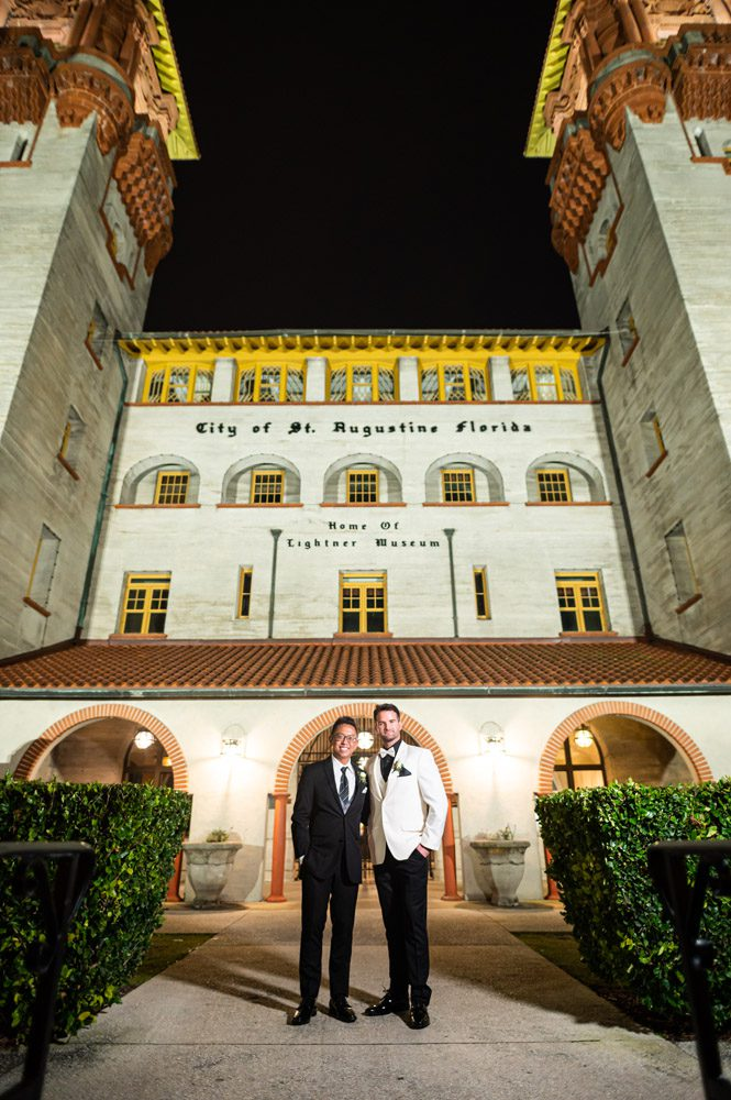 LGBTQ friendly wedding venue | Carlson and Paul's Wedding at the Lightner Museum