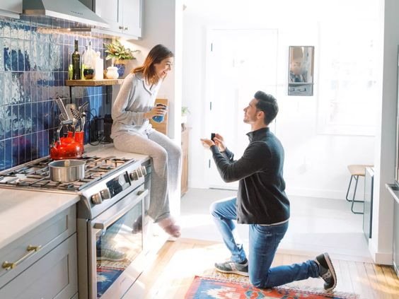 At home proposal planning ideas