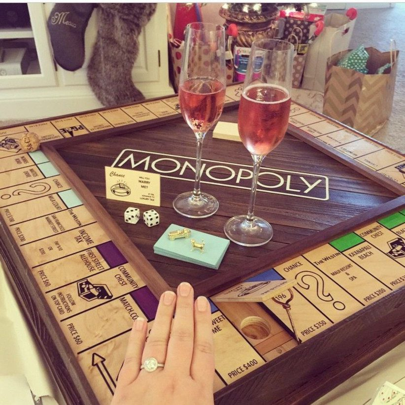 At home board game proposal
