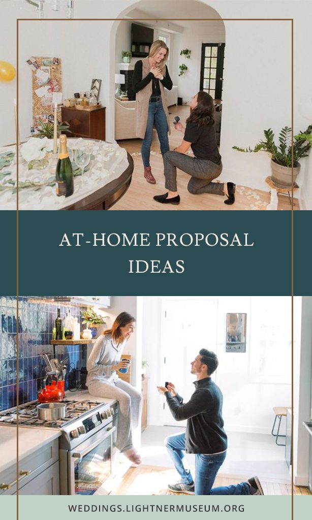 At Home Proposal Ideas | Pin it for later!